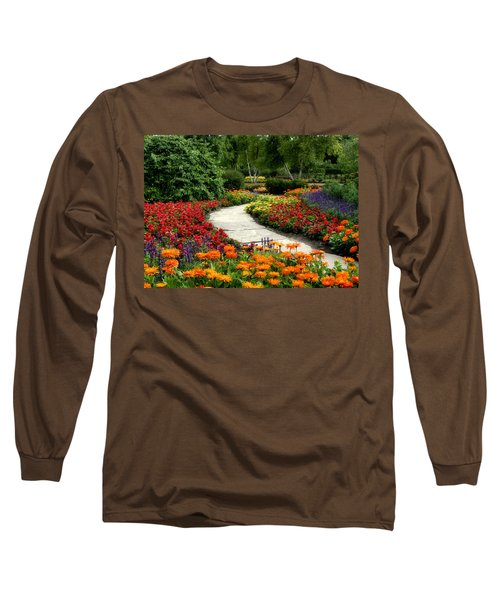 Summer In Cantigny 1 Long Sleeve T-Shirt by Ely Arsha