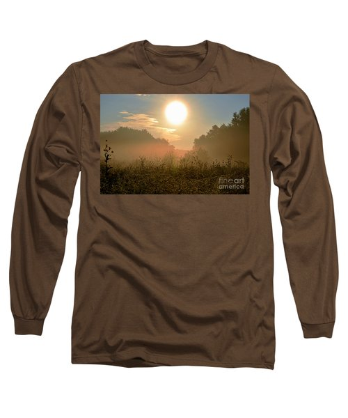 Sunny Side Up Long Sleeve T-Shirt by Sue Stefanowicz