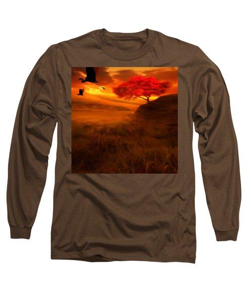 Sunset Duet Long Sleeve T-Shirt