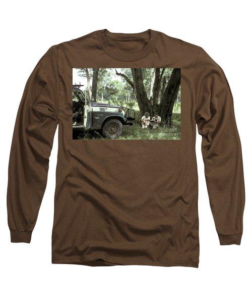 Taking Notes In Kenya, East Africa Long Sleeve T-Shirt