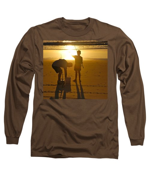 Long Sleeve T-Shirt featuring the photograph Teach A Man To Fish... by Eric Tressler