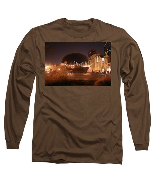 The Bean On A Winter Night Long Sleeve T-Shirt