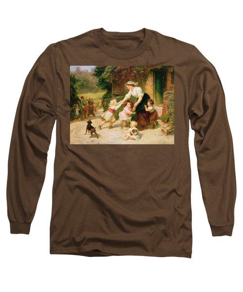 The Dancing Bear Long Sleeve T-Shirt
