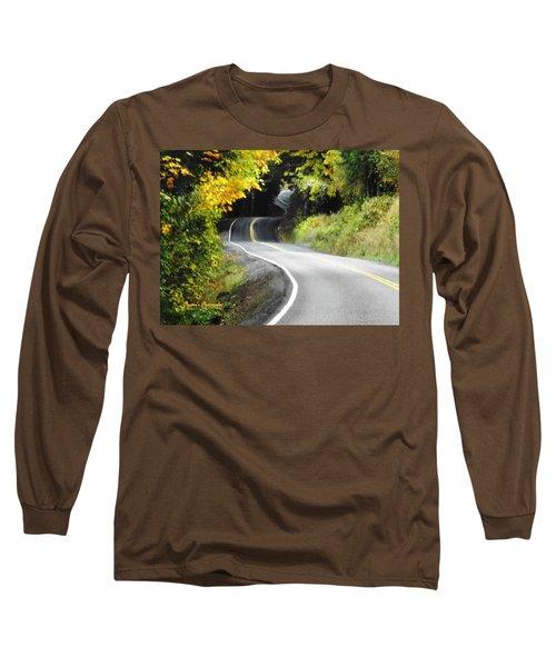 The Low Road Long Sleeve T-Shirt by Sadie Reneau