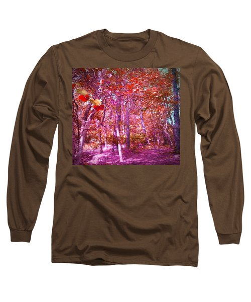 Long Sleeve T-Shirt featuring the photograph Thicket In Color by George Pedro