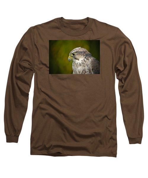 Thoughtful Kestrel Long Sleeve T-Shirt