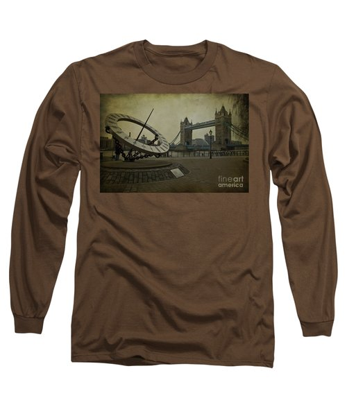 Long Sleeve T-Shirt featuring the photograph Timepiece. by Clare Bambers