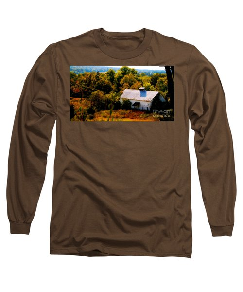 Long Sleeve T-Shirt featuring the photograph Touch Of Old Country by Peggy Franz