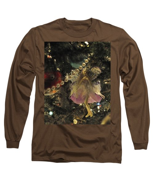 Tree Fairy Tfp Long Sleeve T-Shirt by Jim Brage