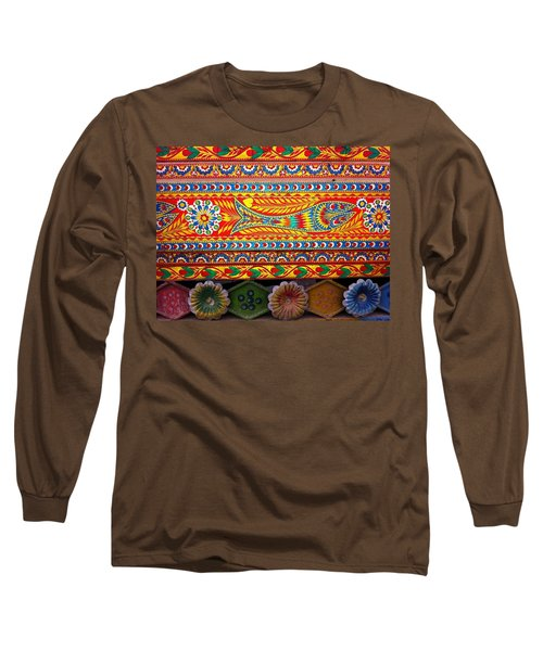 Truck Art Detail Long Sleeve T-Shirt