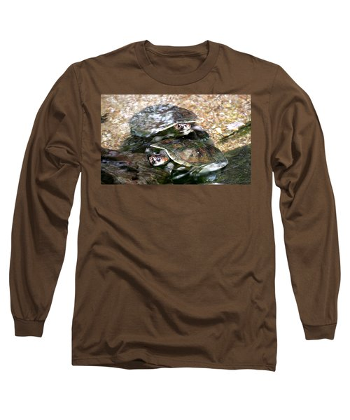 Turtle Two Turtle Love Long Sleeve T-Shirt