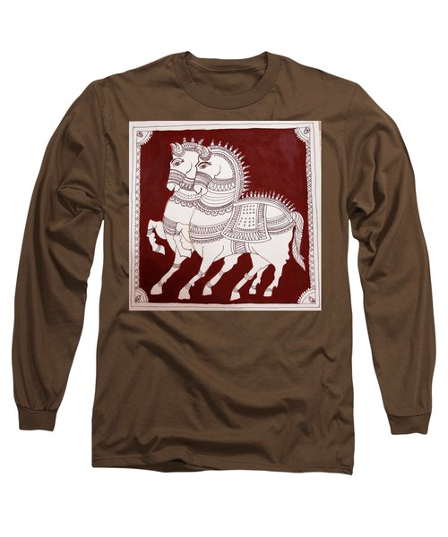 Two Horses Long Sleeve T-Shirt
