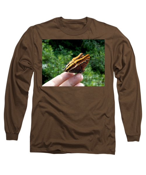 Long Sleeve T-Shirt featuring the photograph Two Tailed Pasha by Lainie Wrightson