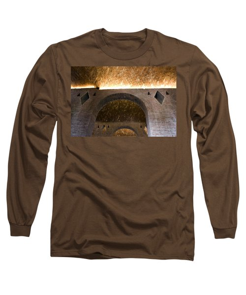 Vaulted Brick Arches Long Sleeve T-Shirt by Lynn Palmer