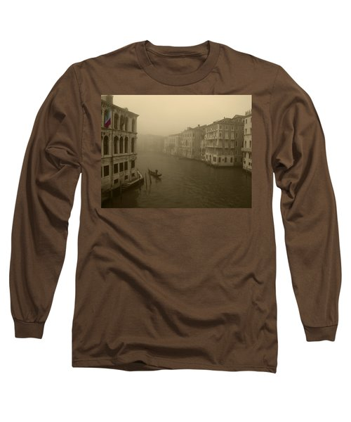 Long Sleeve T-Shirt featuring the photograph Venice by David Gleeson