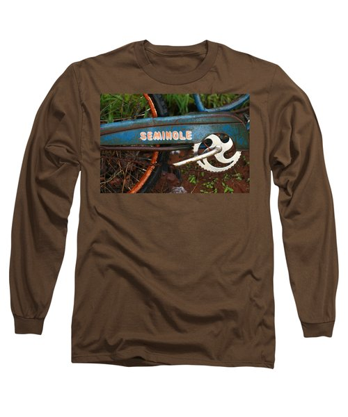 Hiawatha Seminole Vintage Bicycle Long Sleeve T-Shirt