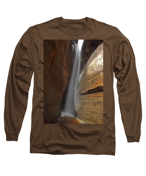 Water Canyon Long Sleeve T-Shirt by Susan Rovira