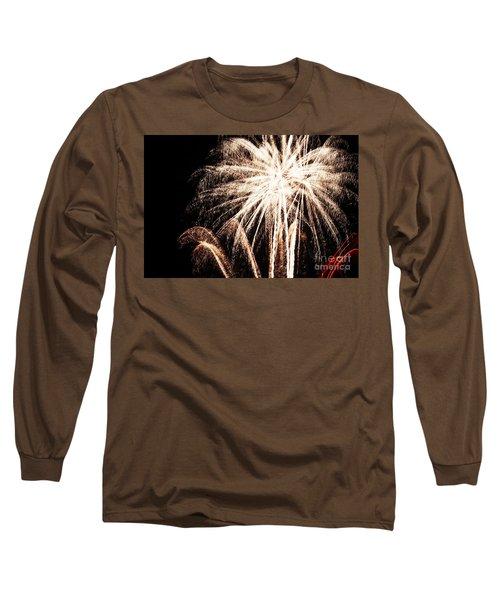 White Explosion Long Sleeve T-Shirt