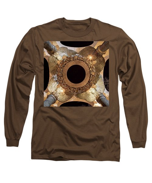 Ww II Memorial Victory Wreath Long Sleeve T-Shirt