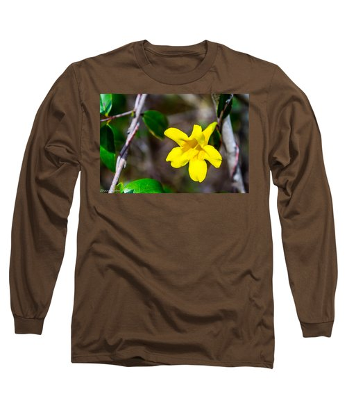 Long Sleeve T-Shirt featuring the photograph Yellow by Shannon Harrington