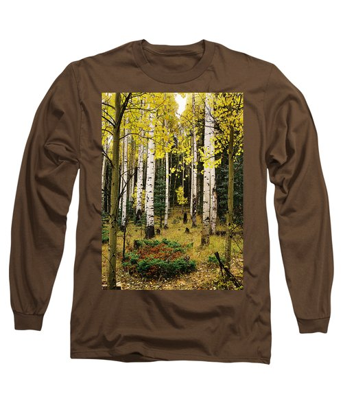 Aspen Grove In Upper Red River Valley Long Sleeve T-Shirt