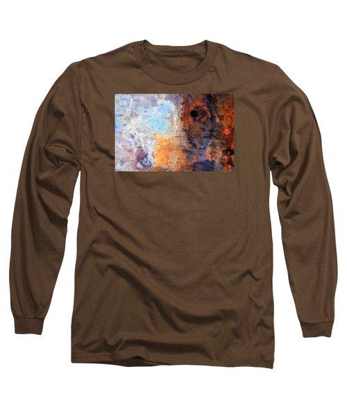 /boatyard Abstract 2 Long Sleeve T-Shirt by Newel Hunter
