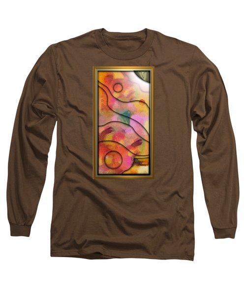 '' Days End - Setting Sun Over Mesasauga Canyon '' Long Sleeve T-Shirt