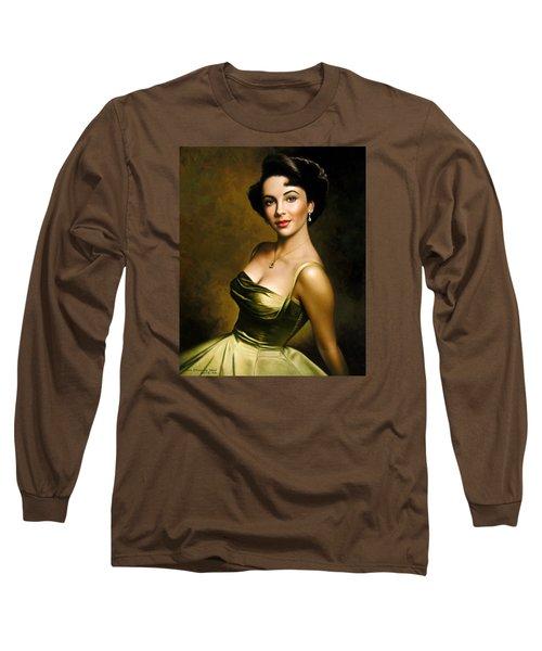 Elizabeth Taylor 2 Long Sleeve T-Shirt