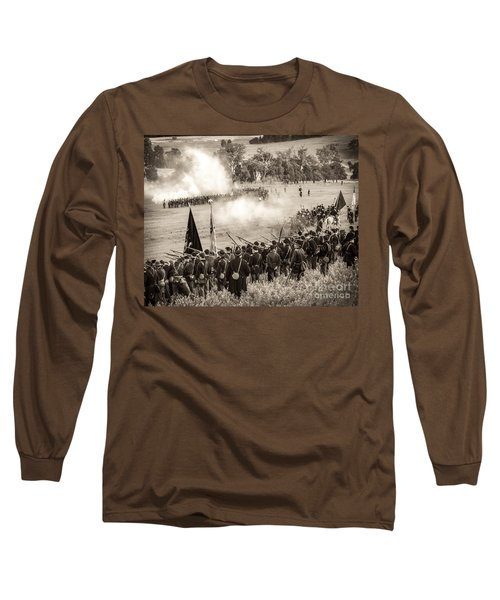 Gettysburg Union Artillery And Infantry 7496s Long Sleeve T-Shirt
