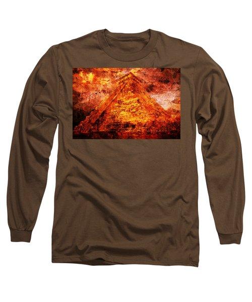 C H I C H E N  .  I T Z A .  Pyramid Long Sleeve T-Shirt