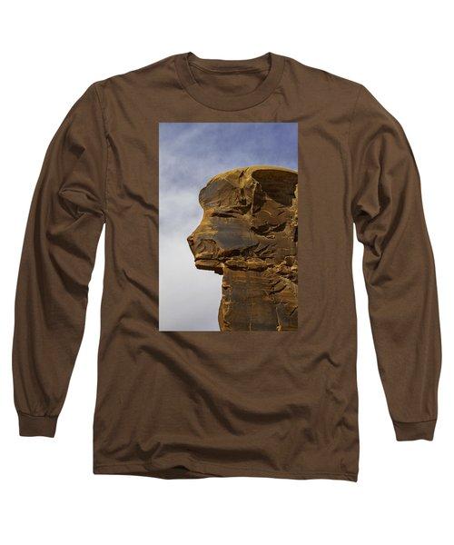Pharaoh Long Sleeve T-Shirt by Elizabeth Eldridge