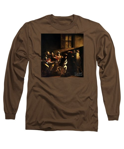 The Calling Of Saint Matthew Long Sleeve T-Shirt