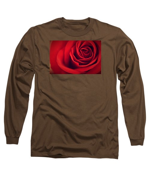 A Loving Heart Long Sleeve T-Shirt by The Art Of Marilyn Ridoutt-Greene