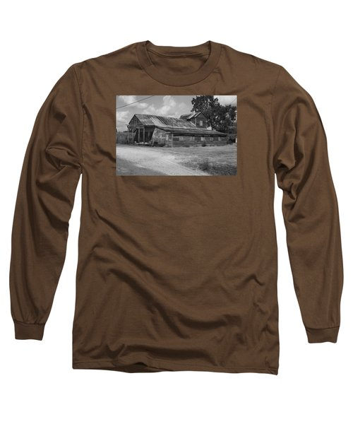 Abandoned Grocery Store Long Sleeve T-Shirt by Ronald Olivier