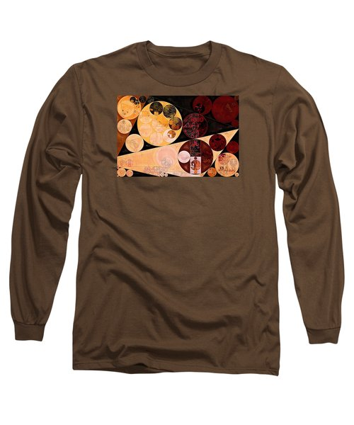 Long Sleeve T-Shirt featuring the digital art Abstract Painting - Tacao by Vitaliy Gladkiy