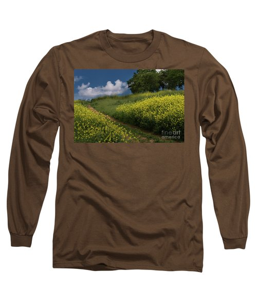 Almaden Meadows' Mustard Blossoms Long Sleeve T-Shirt