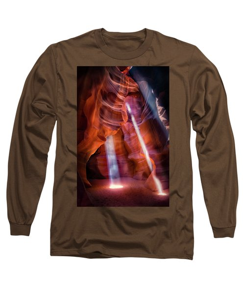 Antelope Canyon's Many Beams Long Sleeve T-Shirt