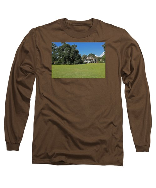 Antibellum Home Long Sleeve T-Shirt by Ronald Olivier