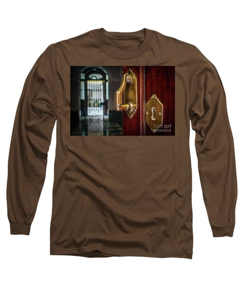 Long Sleeve T-Shirt featuring the photograph Apartment In The Heart Of Cadiz by Pablo Avanzini