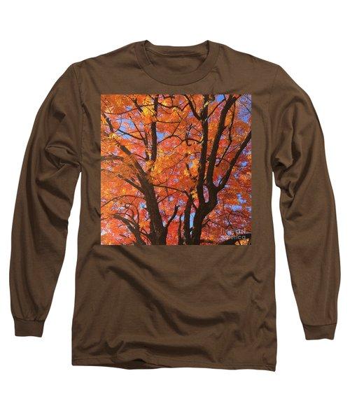 Autumn Orange Long Sleeve T-Shirt