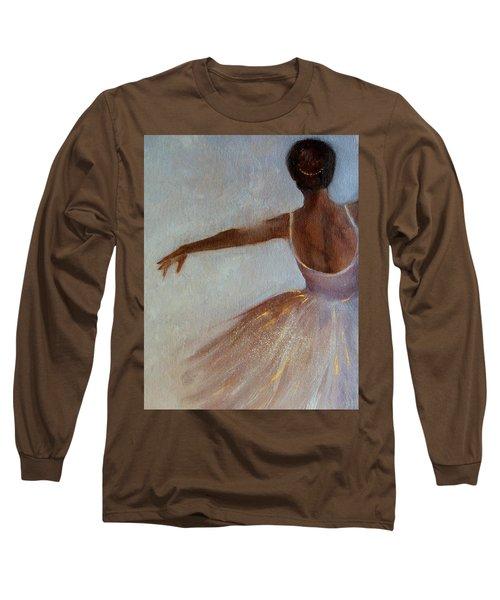 Ballerina  Long Sleeve T-Shirt by Michele Carter