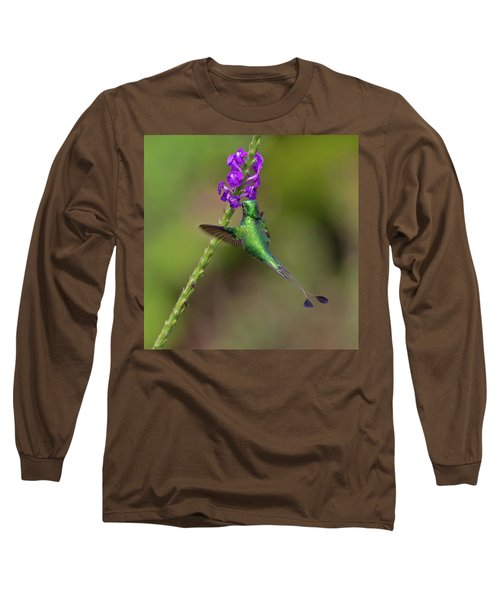 Booted Racket-tail Long Sleeve T-Shirt