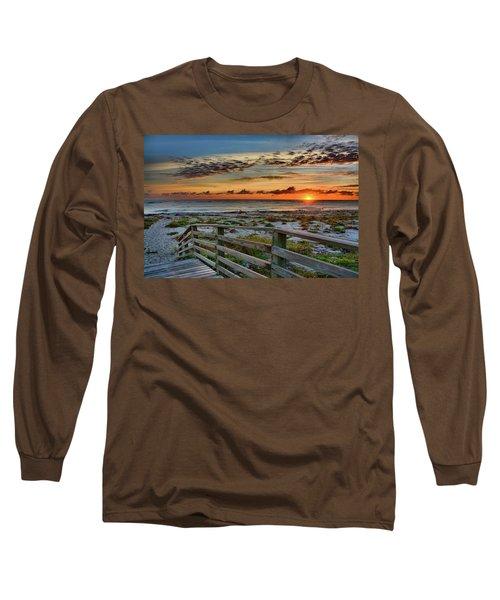Canaveral Sunrise Long Sleeve T-Shirt