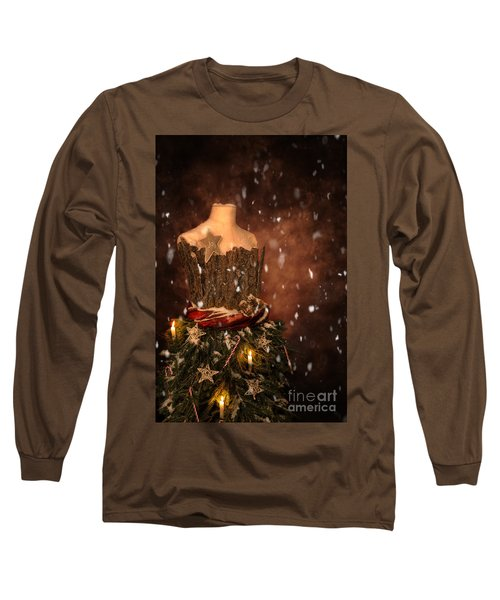 Christmas Mannequin Long Sleeve T-Shirt
