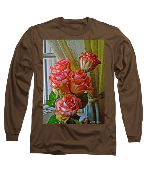 Cindy's Roses Long Sleeve T-Shirt