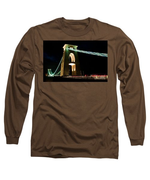 Clifton Suspension Bridge, Bristol. Long Sleeve T-Shirt