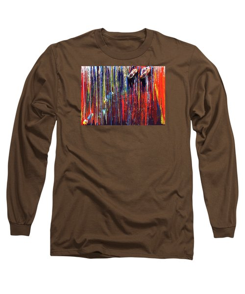Climbing The Wall Long Sleeve T-Shirt