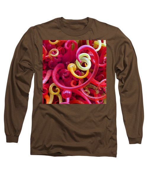 Close-up Of Art Glass By Dale Chihuly Long Sleeve T-Shirt