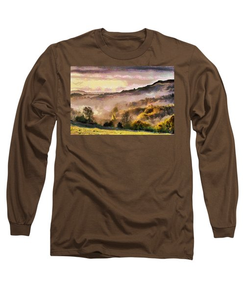 Long Sleeve T-Shirt featuring the digital art Colors Of Autumn by Gun Legler