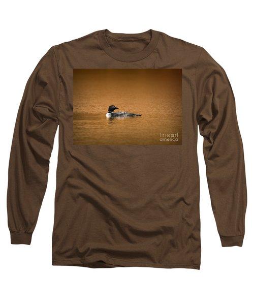 Common Loon Long Sleeve T-Shirt